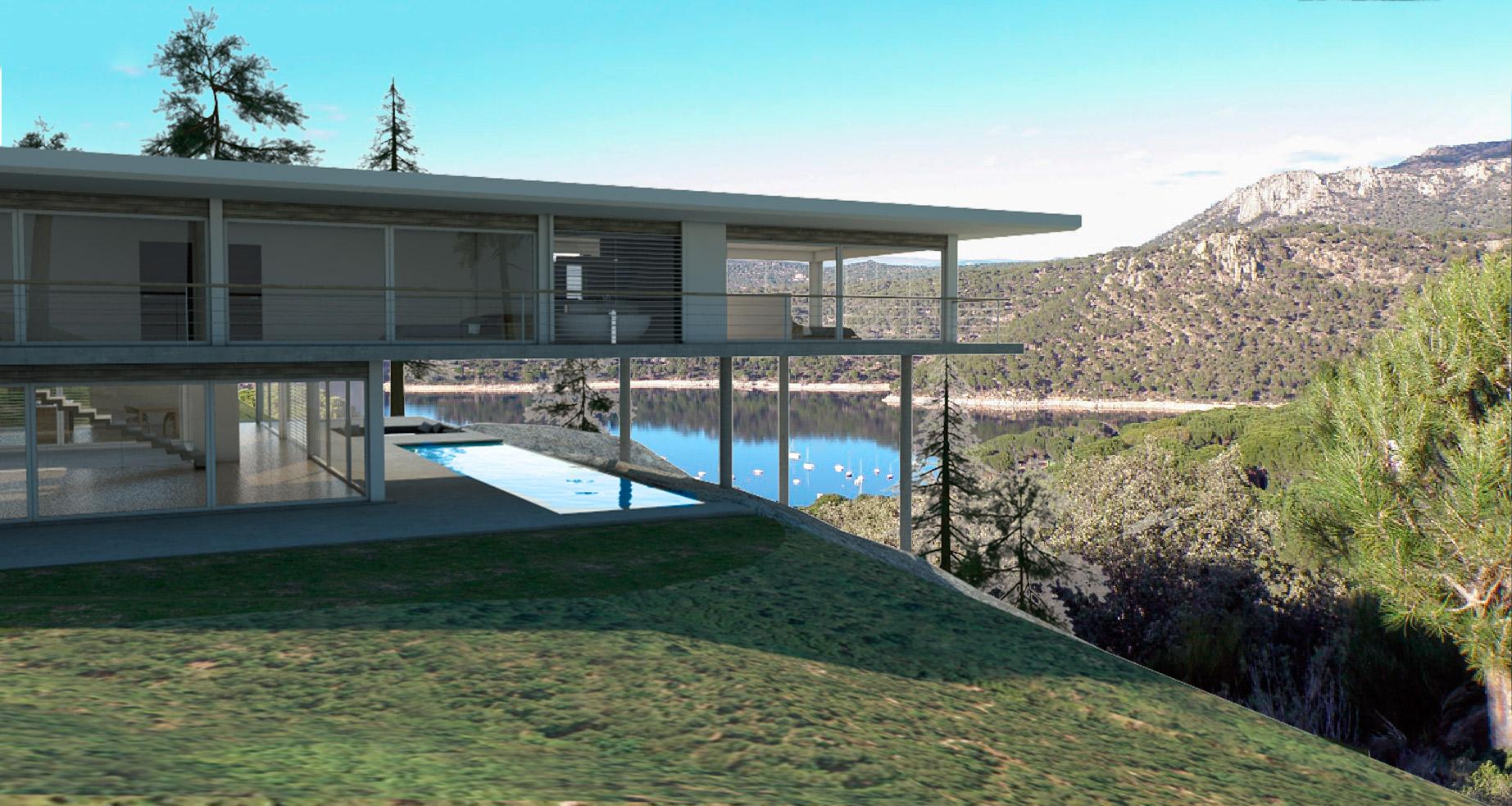 Parcelas urbanizadas y chalets independientes en madrid en for Alquiler verano sierra madrid piscina